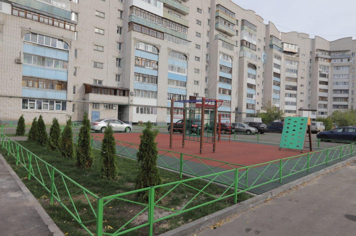 Вдевяти районах Нижегородской области полностью завершилось благоустройство дворов понацпроекту «Жилье игородская среда»