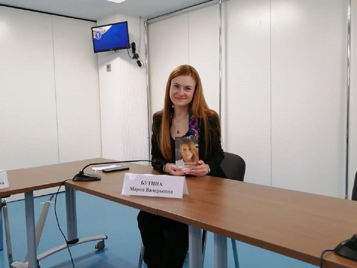 Журналист Russia Today Мария Бутина представила нижегородцам свою книгу «Тюремный дневник»