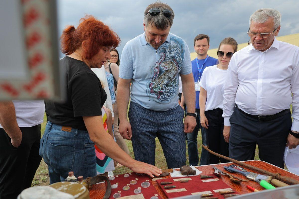 Глава Дзержинска Иван Носков посетил молодежный фестиваль «Мечтай! Действуй!»
