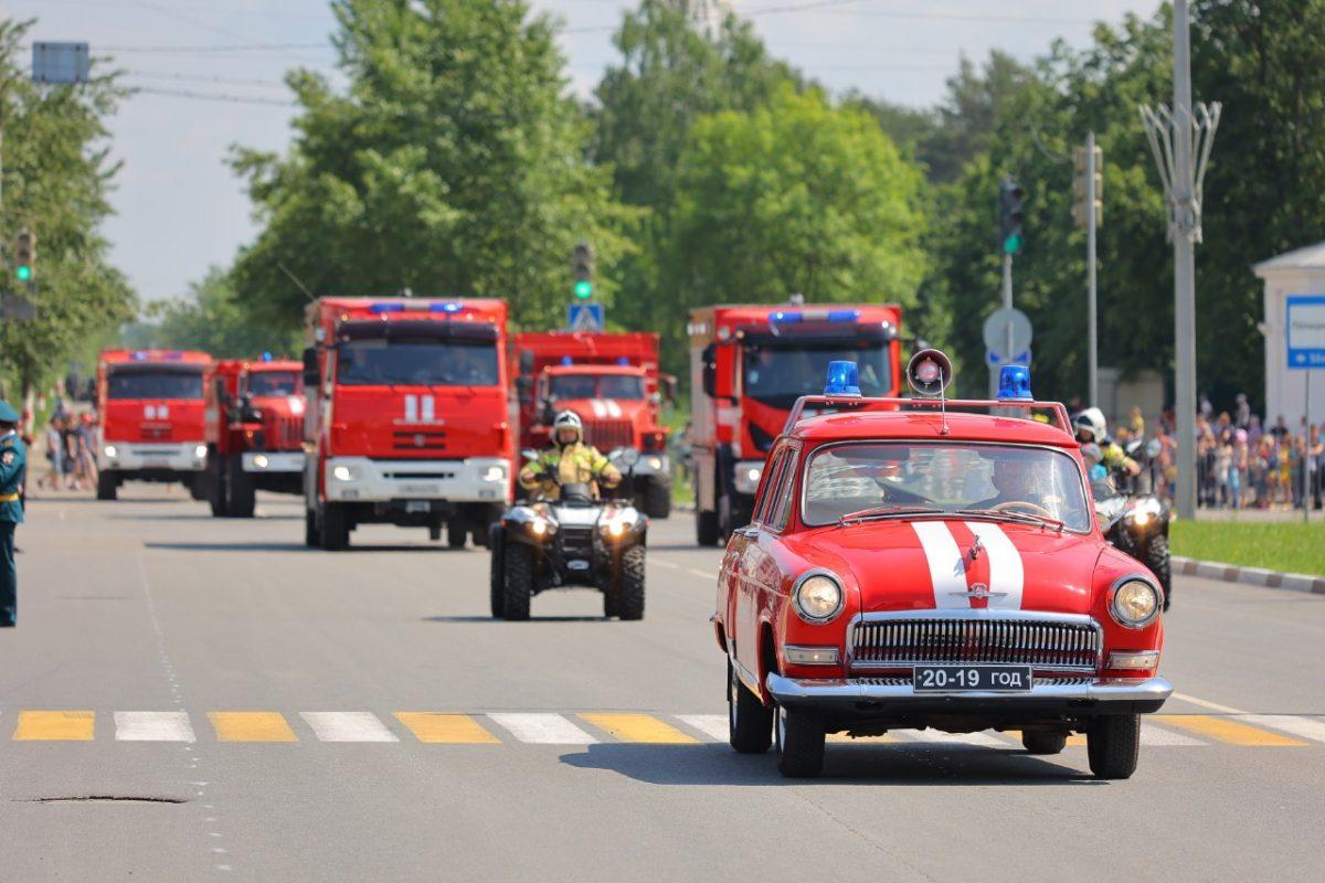 Открытие Дня города состоялось на площади Дзержинского