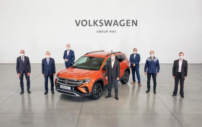В Нижнем Новгороде началось производство нового кроссовера Volkswagen Taos
