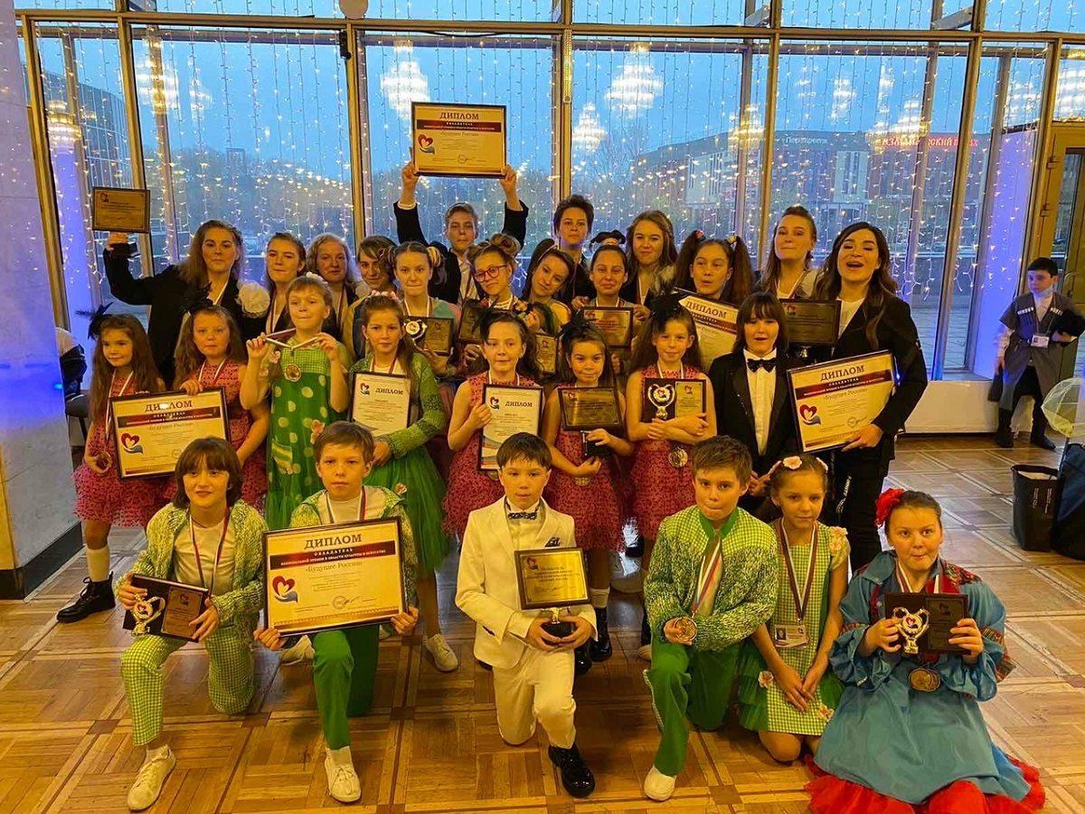 Юные нижегородцы из образцового вокального коллектива «Маэстро» стали лауреатами V Национальной премии «Будущее России»
