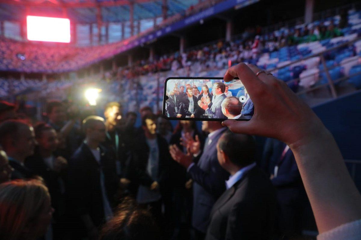 Глеб Никитин встретился с участниками всероссийского фестиваля «Студенческая весна»