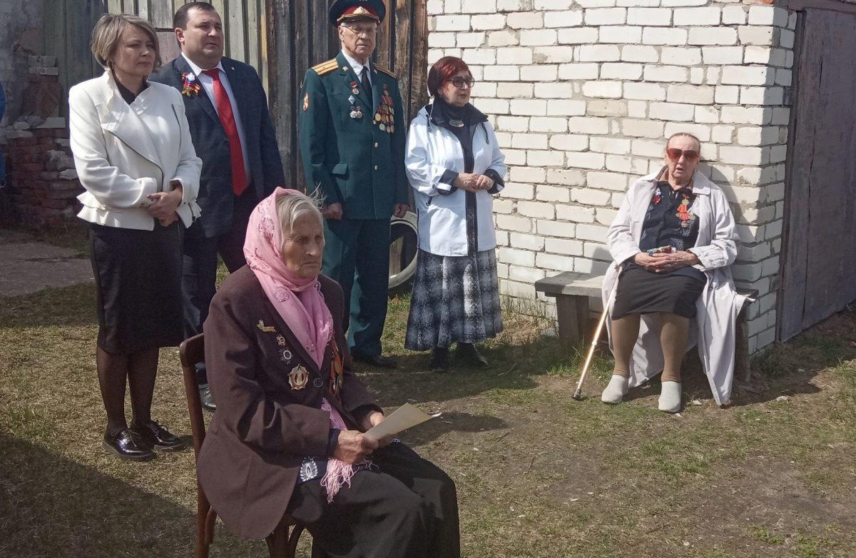 Ветеран войны из Балахны отметила столетний юбилей