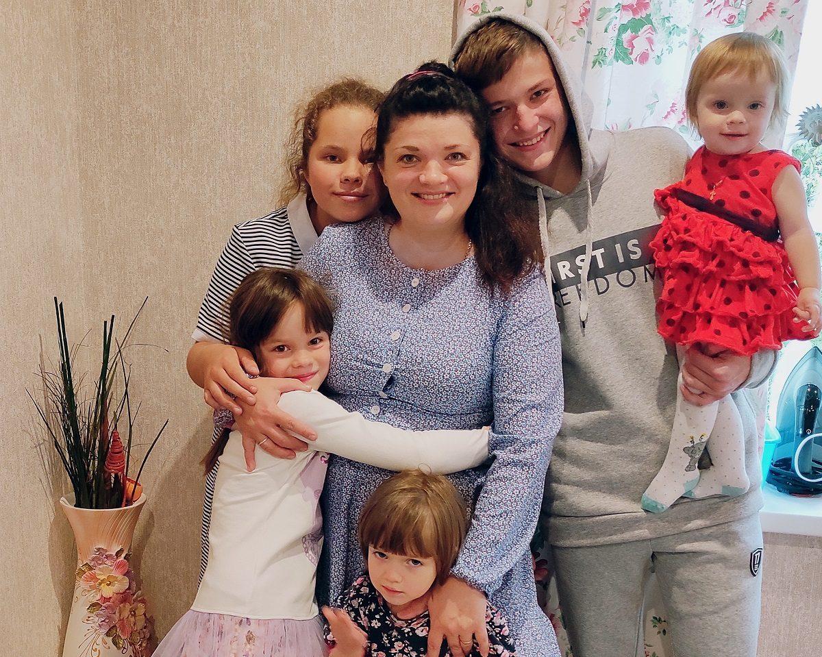 Семья Милюковых