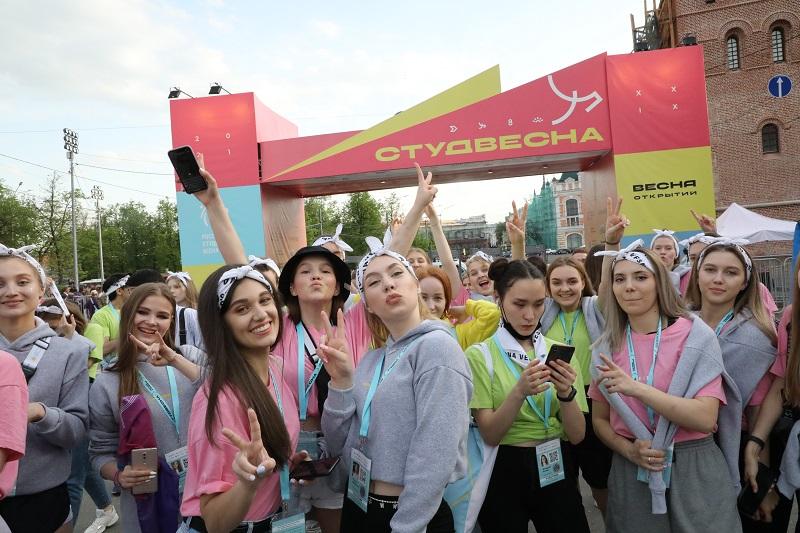 Студенты из разных регионов страны приехали на фестиваль в Нижний Новгород
