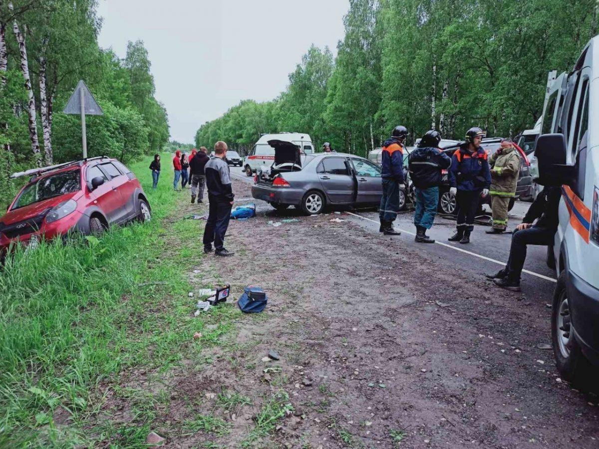 Стало известно, в каком состоянии находятся пострадавшие в ДТП в Борском районе