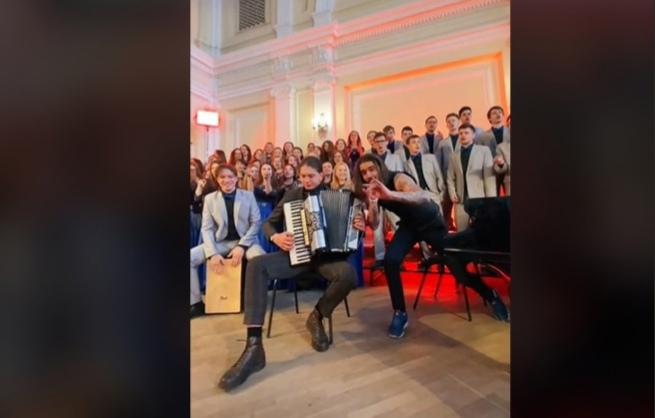 Нижегородский хор спел с солистами The Hatters