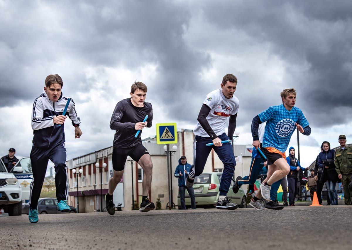 Княгининцы приняли участие влегкоатлетическом пробеге вчесть Дня Победы
