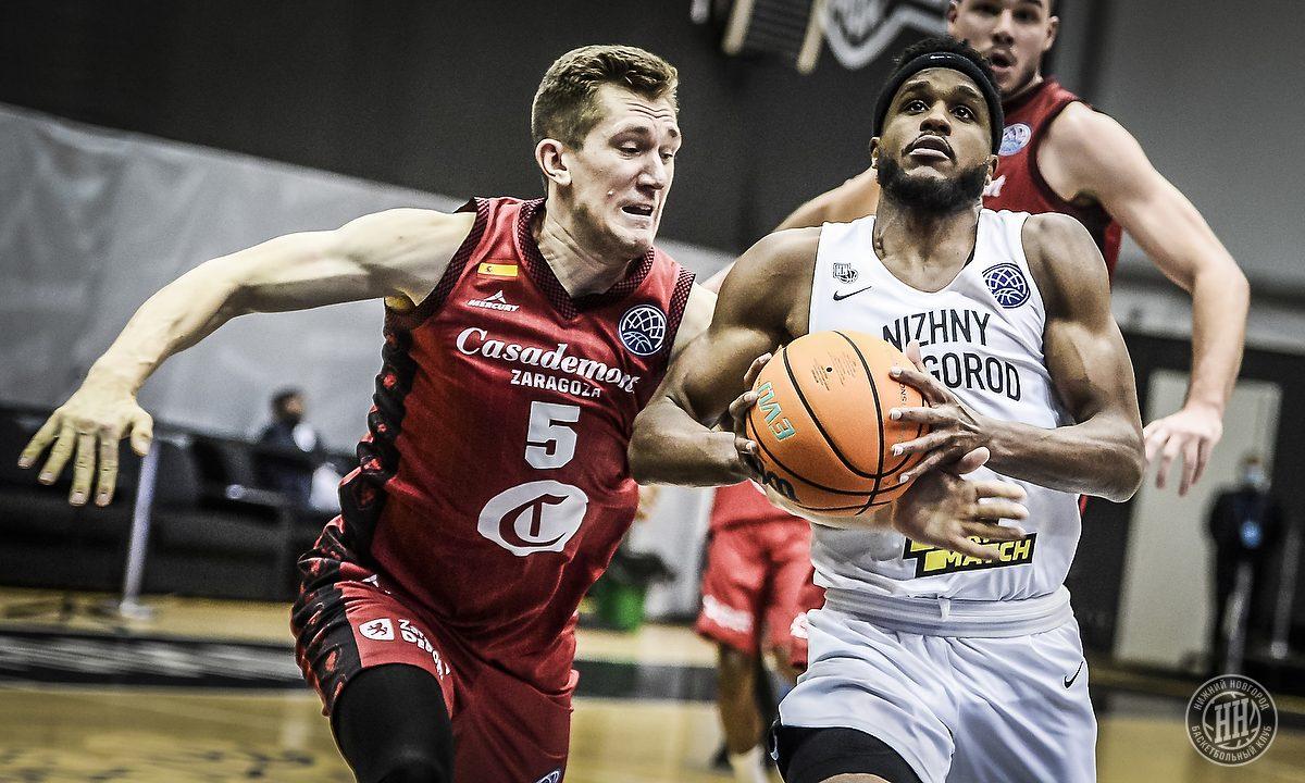 Баскетболисты «Нижнего Новгорода» выбыли из борьбы за победу в Лиге чемпионов