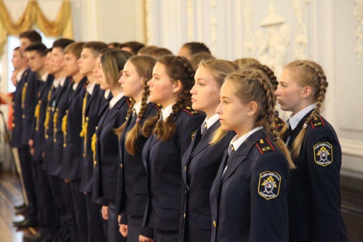Четвёртый выпуск готовят в кадетском классе Следственного комитета России в Нижнем Новгороде