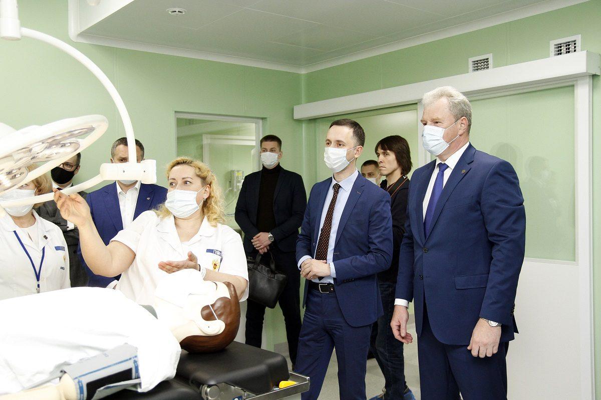 Новый уникальный операционный блок открыт вклинической больнице № 3 ПОМЦ ФМБА России