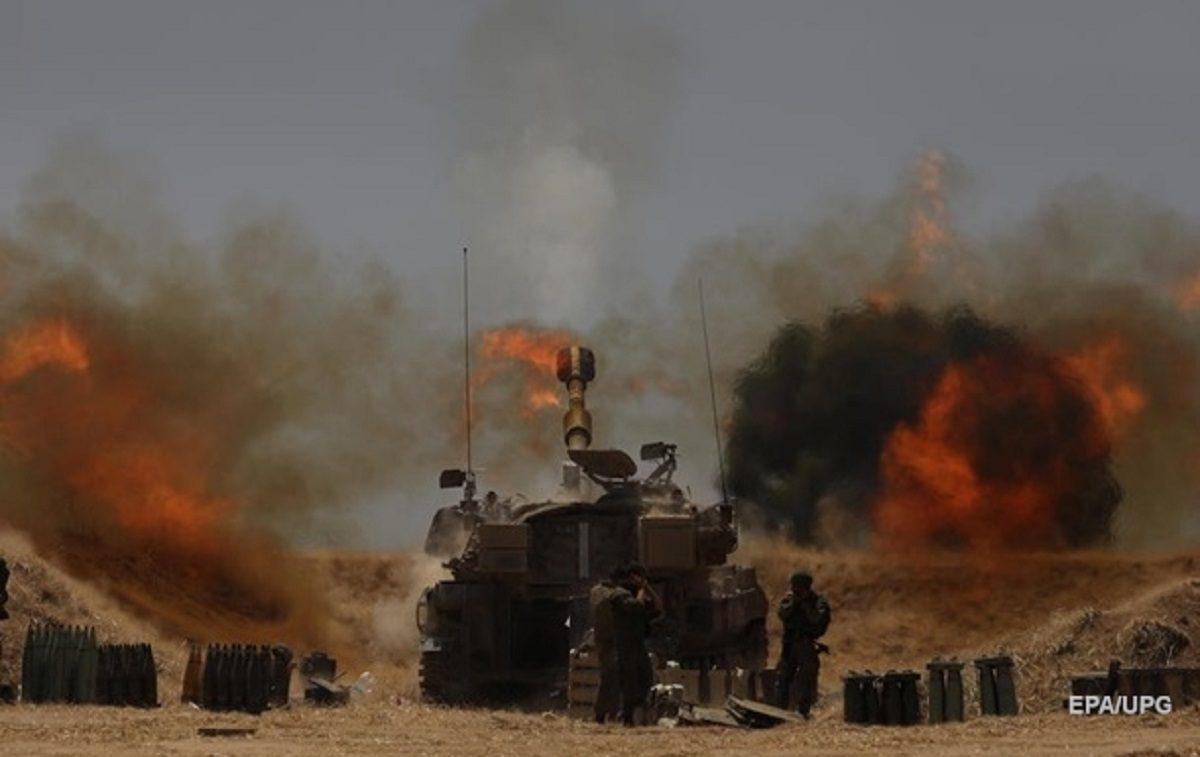 Израиль с Палестиной готовятся к войне