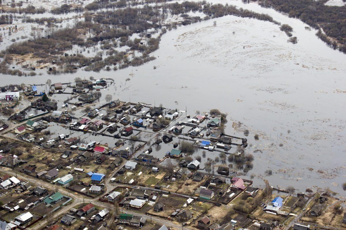 Паводок в Нижегородской области начинает отступать