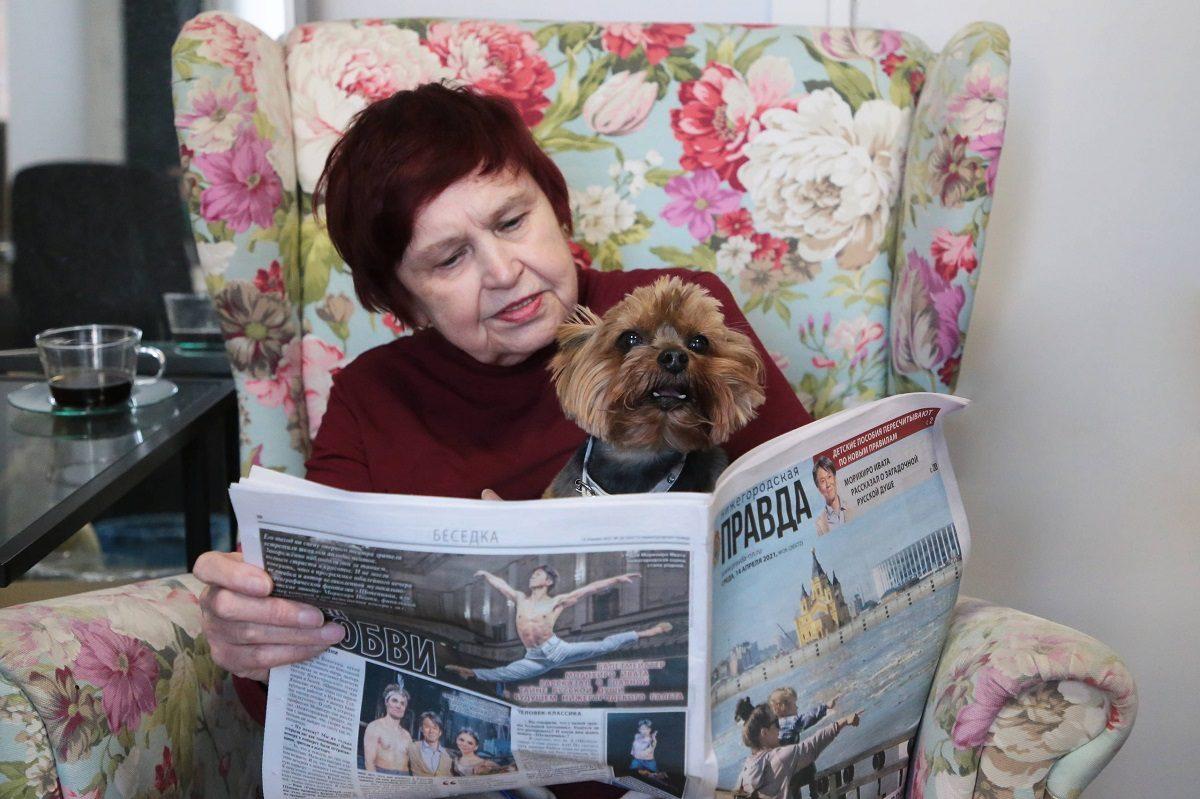 Добровольцы собрали деньги, чтобы оформить подписку на «Нижегородскую правду» для бабушек и дедушек в домах престарелых