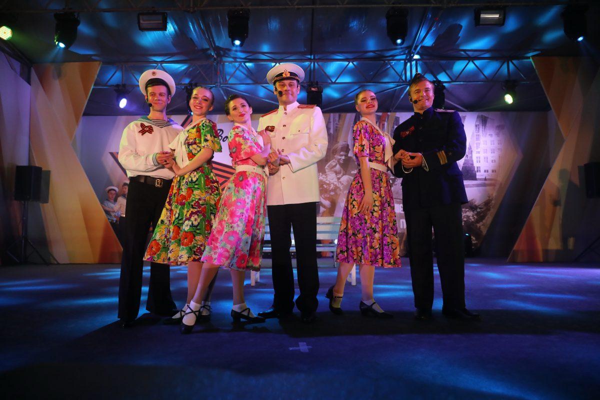 В парке Победы прошел концерт «Военные песни у Кремля»