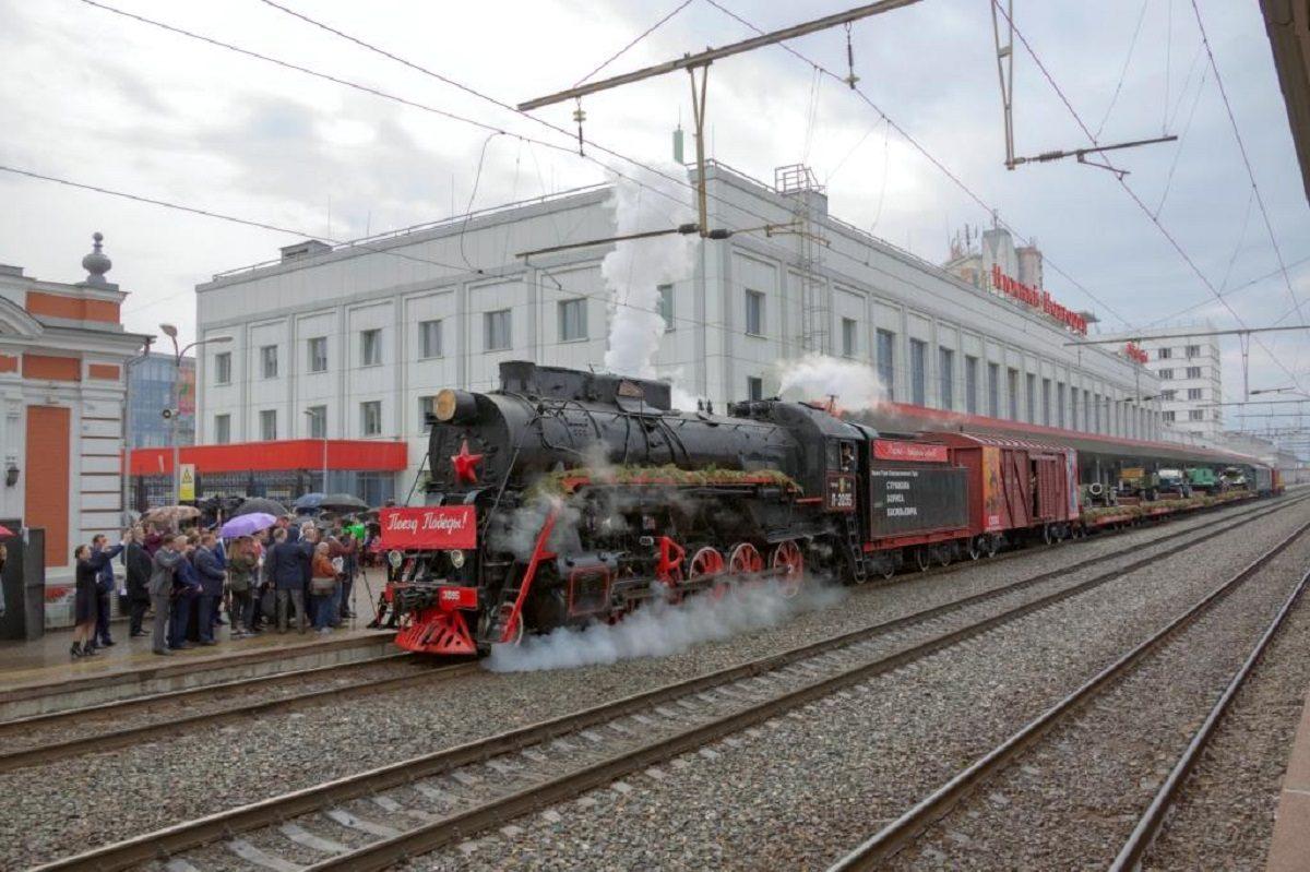 поезд победы ржд