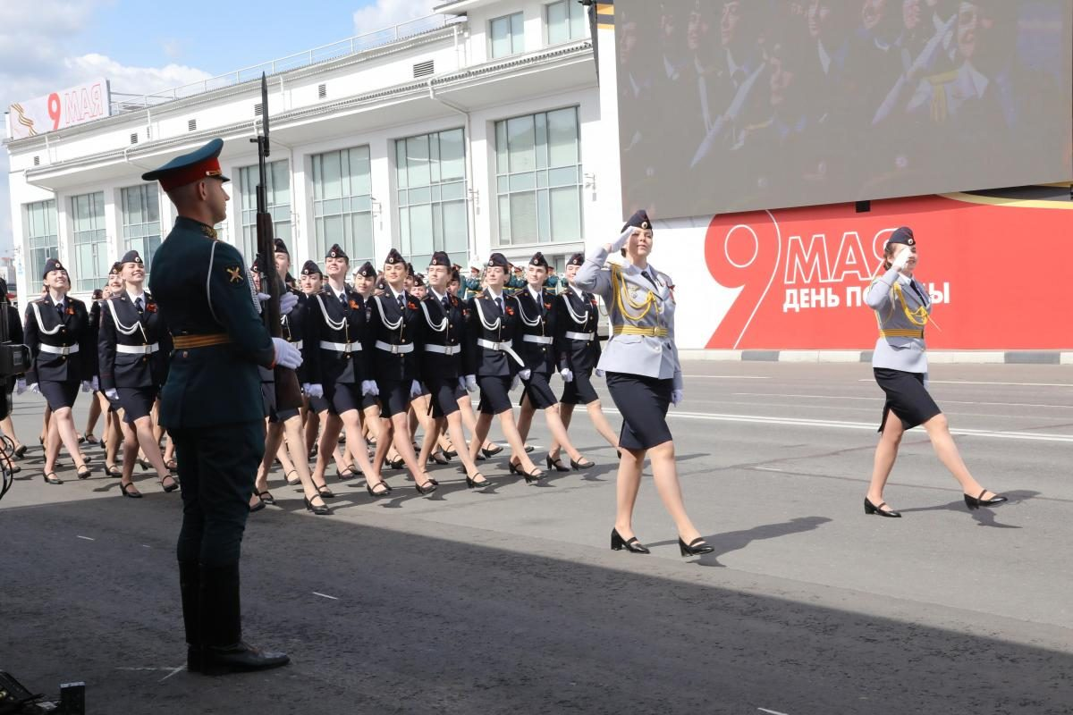 репетиция парад победы 9 мая марш