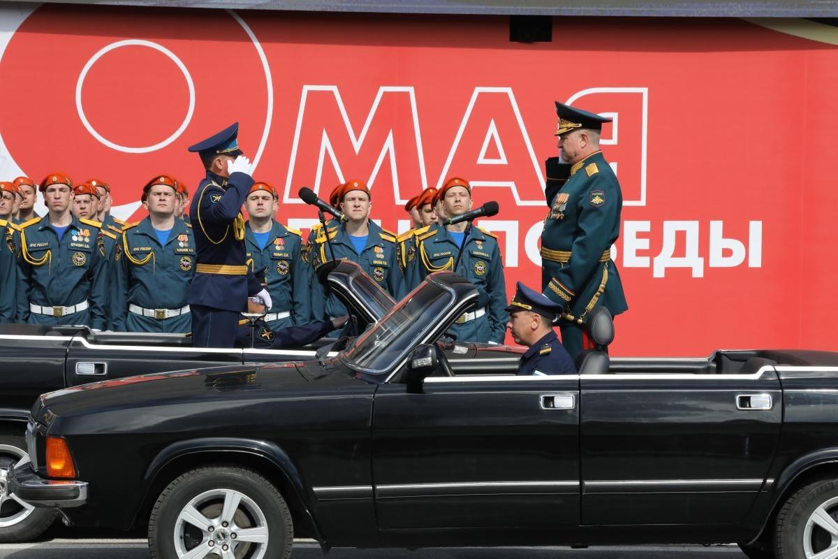 репетиция парад победы 9 мая военные