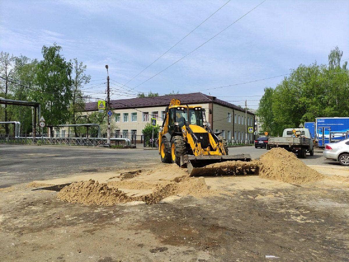 Перекладка трубопроводов холодного водоснабжения под объектами БКАД в Нижнем Новгороде выполнена на 50%