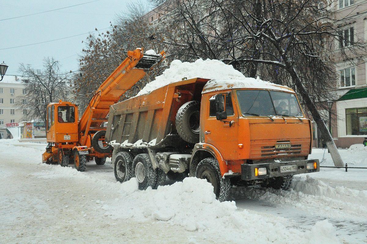 Нижегородский водоканал может построить новую станцию снеготаяния в городе