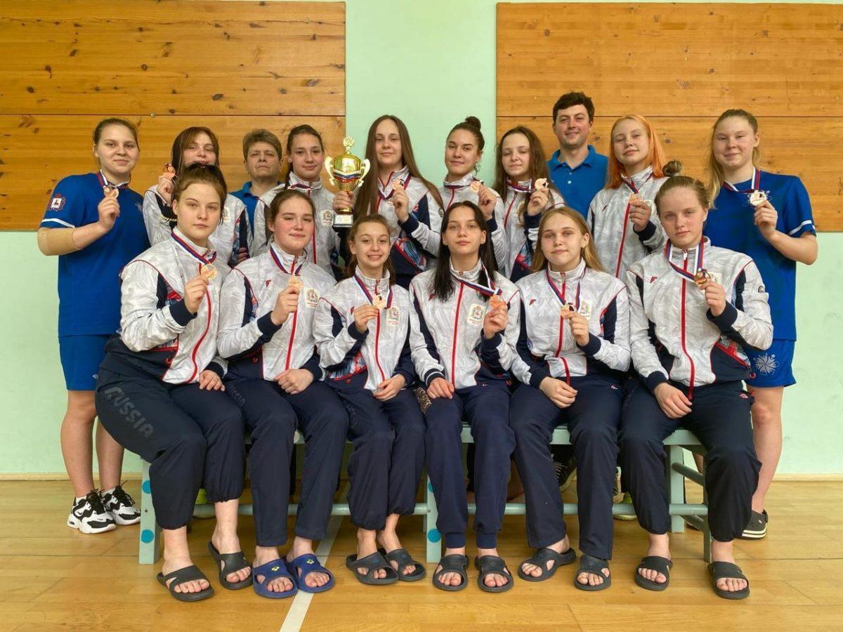 Ватерполистки из Нижнего Новгорода заняли третье место на Первенстве России