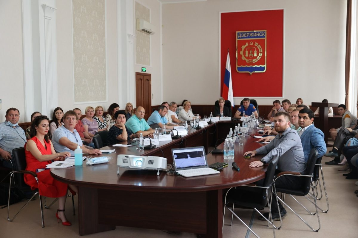 Дзержинские предприниматели примут участие в благоустройстве Привокзальной площади