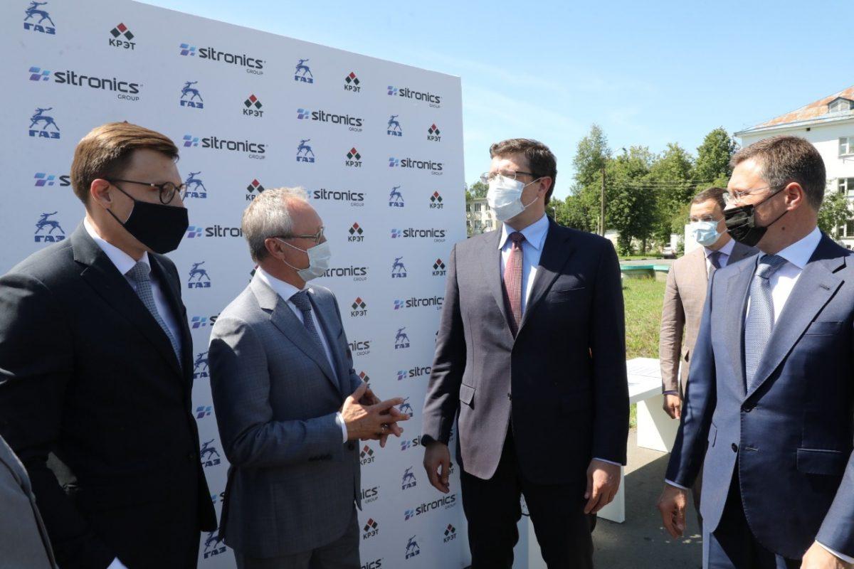 Электрозарядную инфраструктуру для общественного транспорта Нижегородской области представили вице-премьеру Александру Новаку