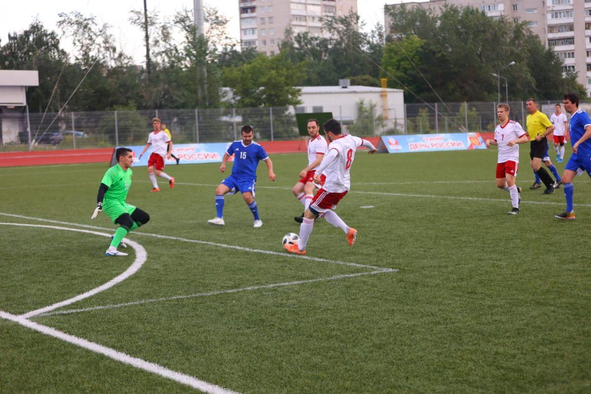 «Матч звезд» прошел на стадионе «Капролактамовец»