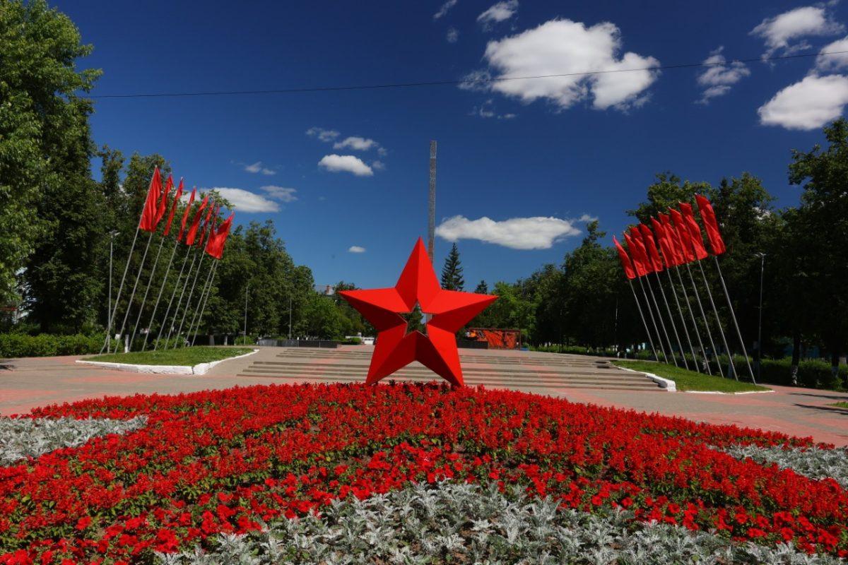 На городских клумбах Дзержинска высажено около 120 тысяч цветов