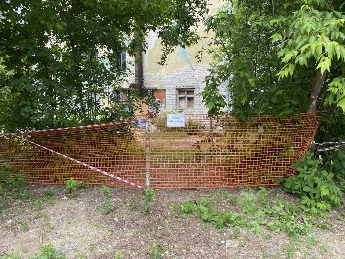 В Дзержинске завершается расселение аварийного дома, в котором произошел обвал стены