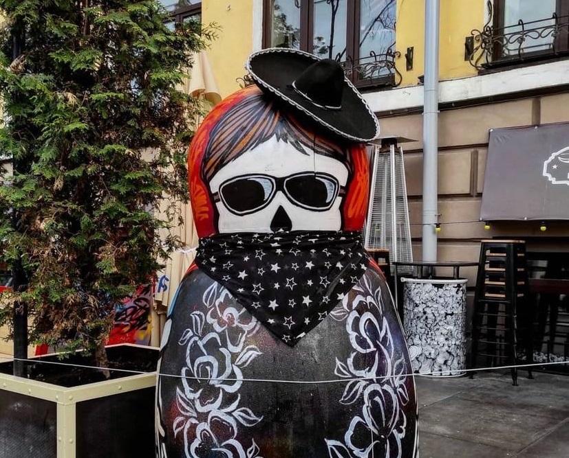 Матрешка-рокер появилась в Нижнем Новгороде