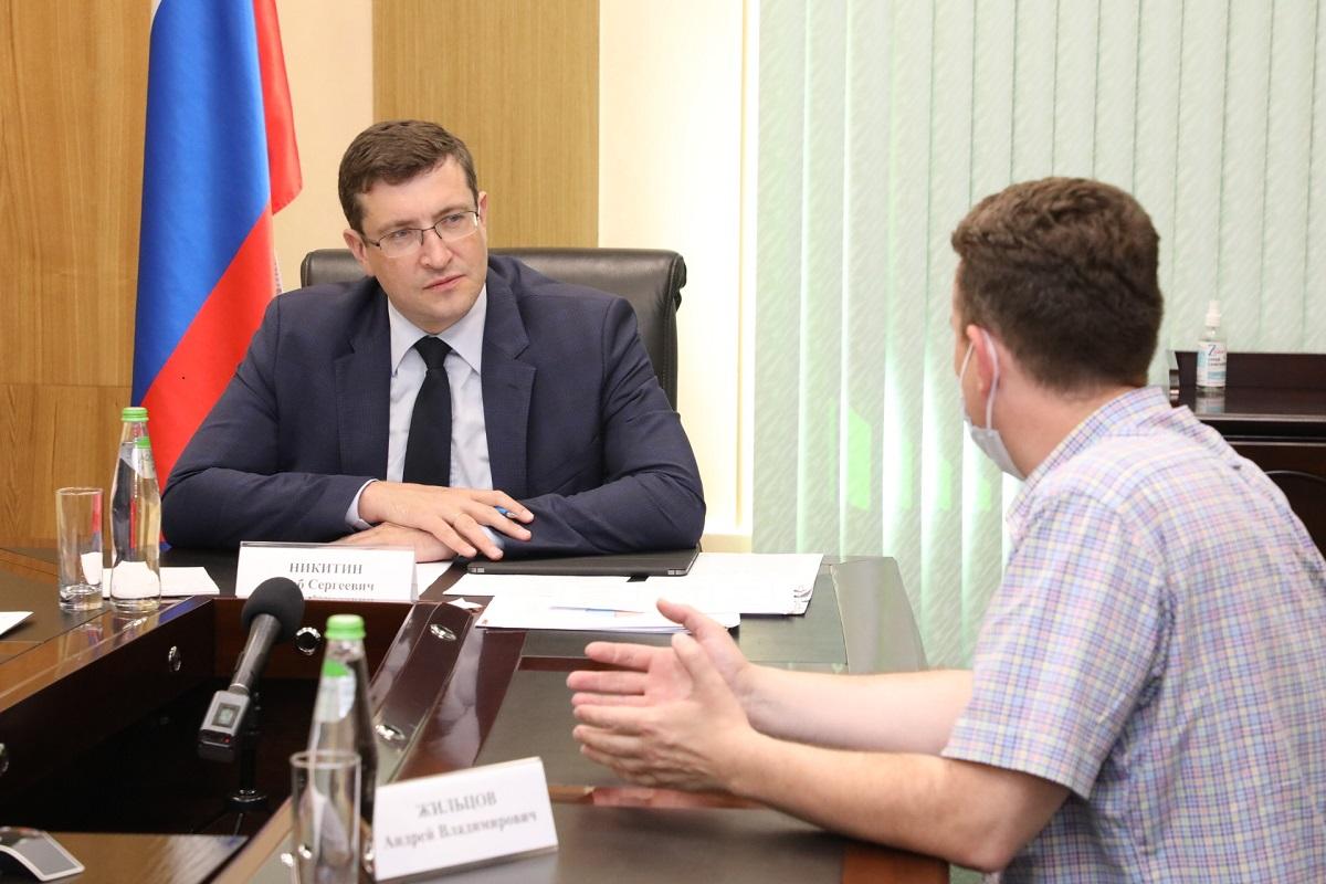 Глеб Никитин: «Сотрудничество волонтерского движения иорганов власти обязательно будет расширяться»