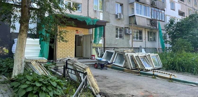 Дома, дорогу и парковку благоустроят на улице Ковалихинская в Нижнем Новгороде