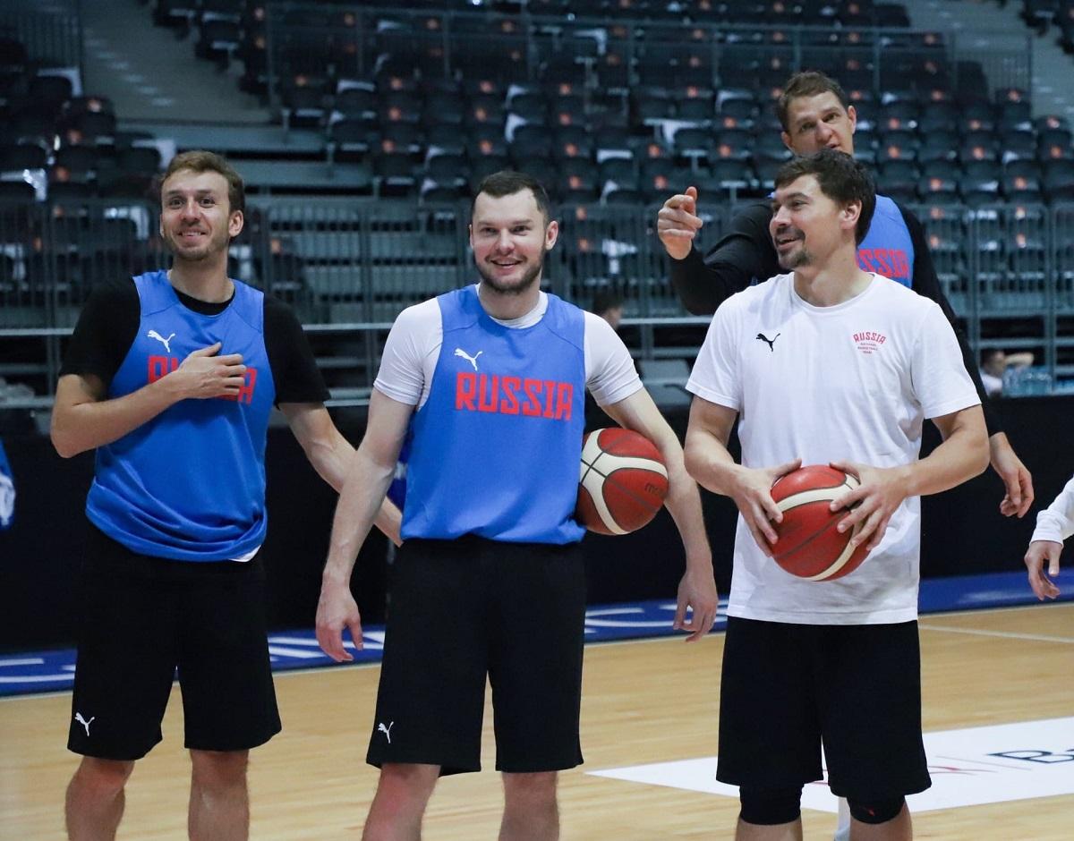 Пятеро баскетболистов «Нижнего Новгорода» сыграют за сборную России в олимпийской квалификации