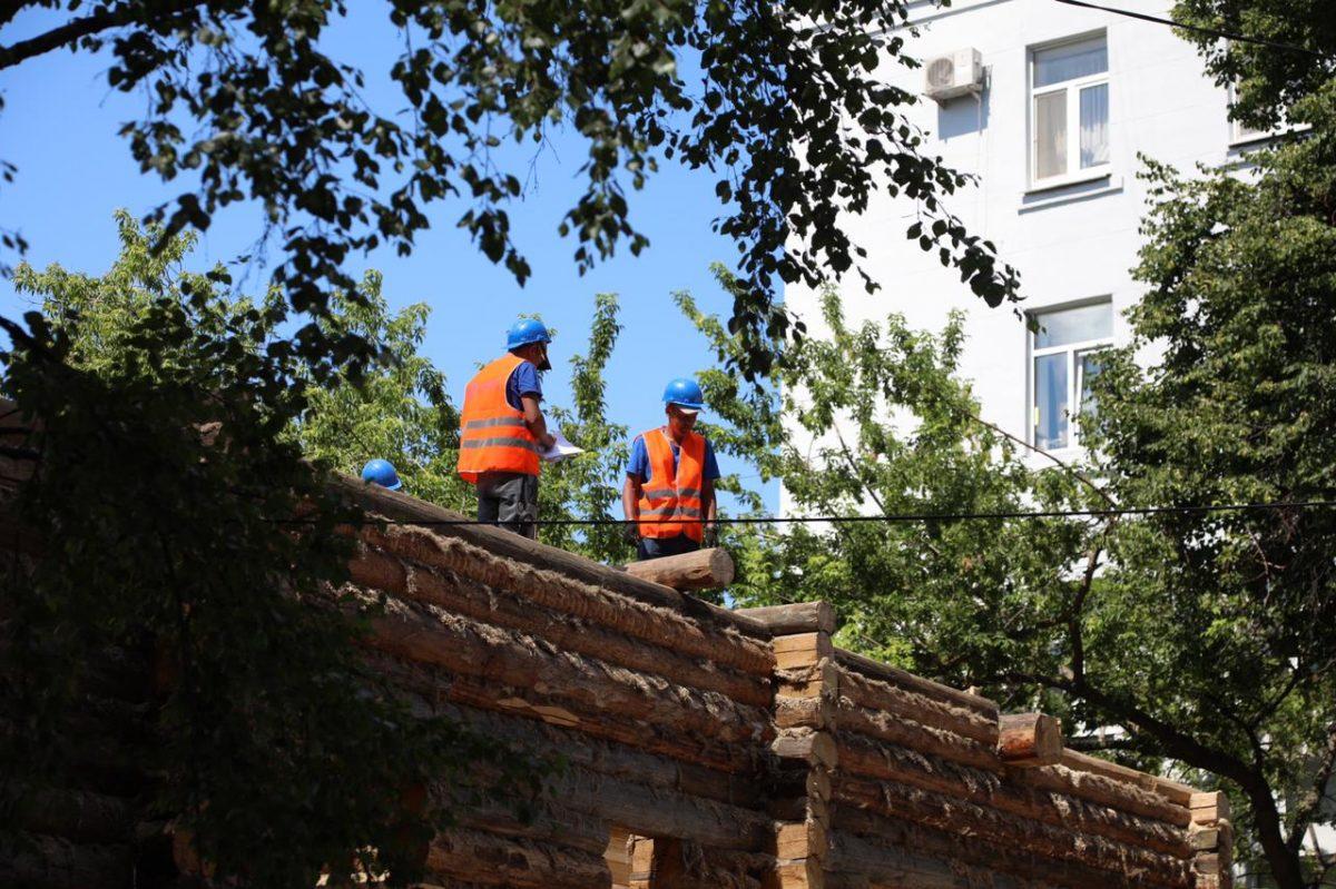 Дому Щелокова наул.Варварская возвращают исторический облик к800-летию Нижнего Новгорода