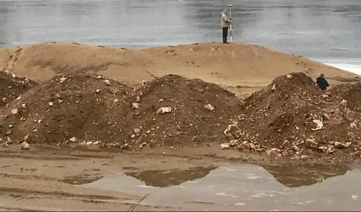 Суд оштрафовал богородскую компанию на 450 тысяч рублей за незаконное складирование песка у Оки