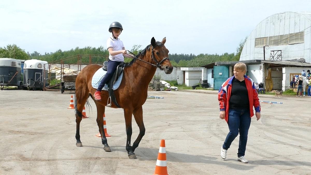 Фестиваль верховой езды для детей с ограниченными возможностями здоровья прошёл в Нижнем Новгороде