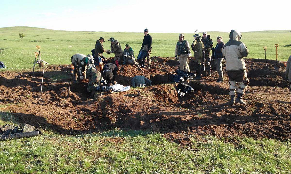 Сергей Репин из Большого Болдина рассказал, как искал останки погибших на войне бойцов