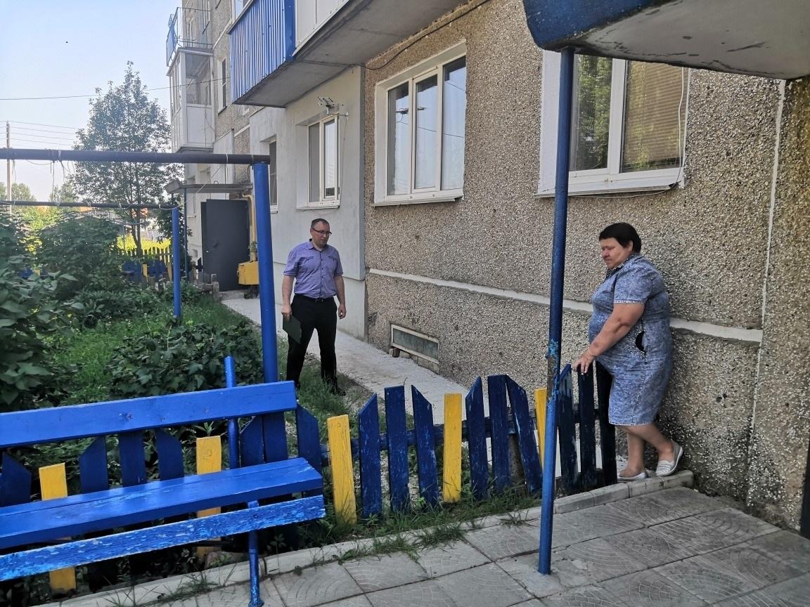 Домоуправляющая компания отремонтировала отмостку дома вУренском районе потребованию ГЖИ