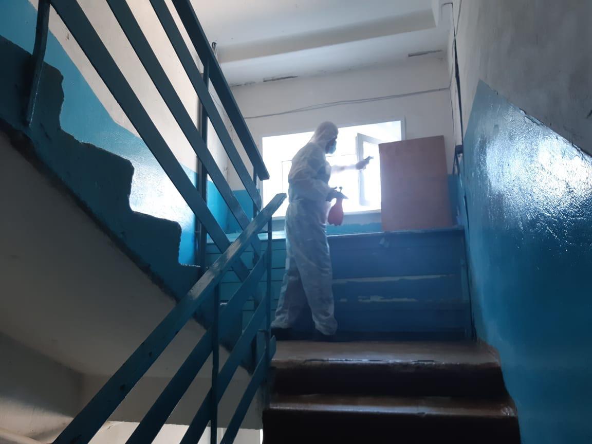 Нижегородская Госжилинспекция усилила контроль задезинфекцией вмногоквартирных домах