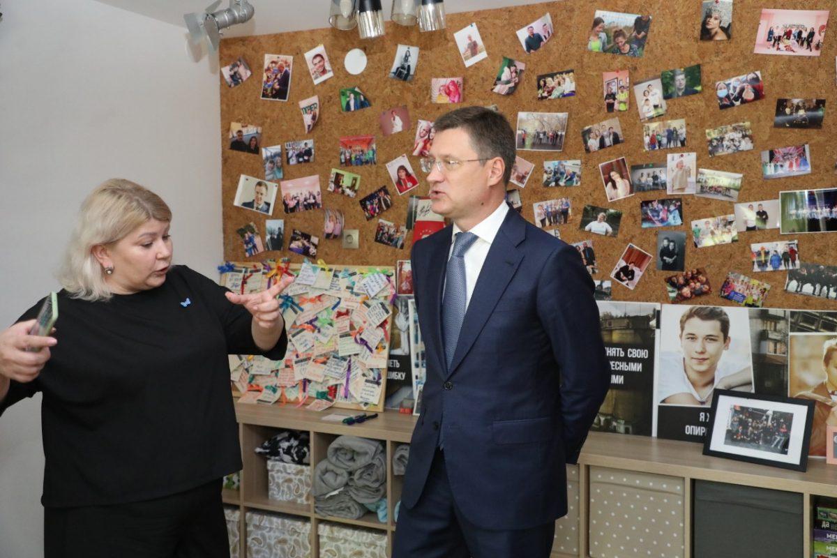 Александр Новак иГлеб Никитин посетили «Хулиганодом» вНижнем Новгороде