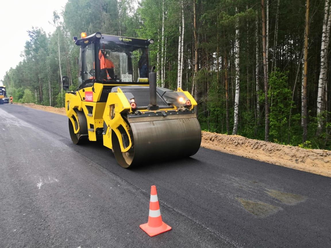 Виюне завершится ремонт дороги, соединяющей Краснобаковский иВоскресенский районы