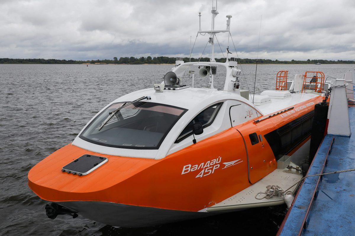 От Нижнего Новгорода до Городца за 47 минут: открылась навигация судов на подводных крыльях