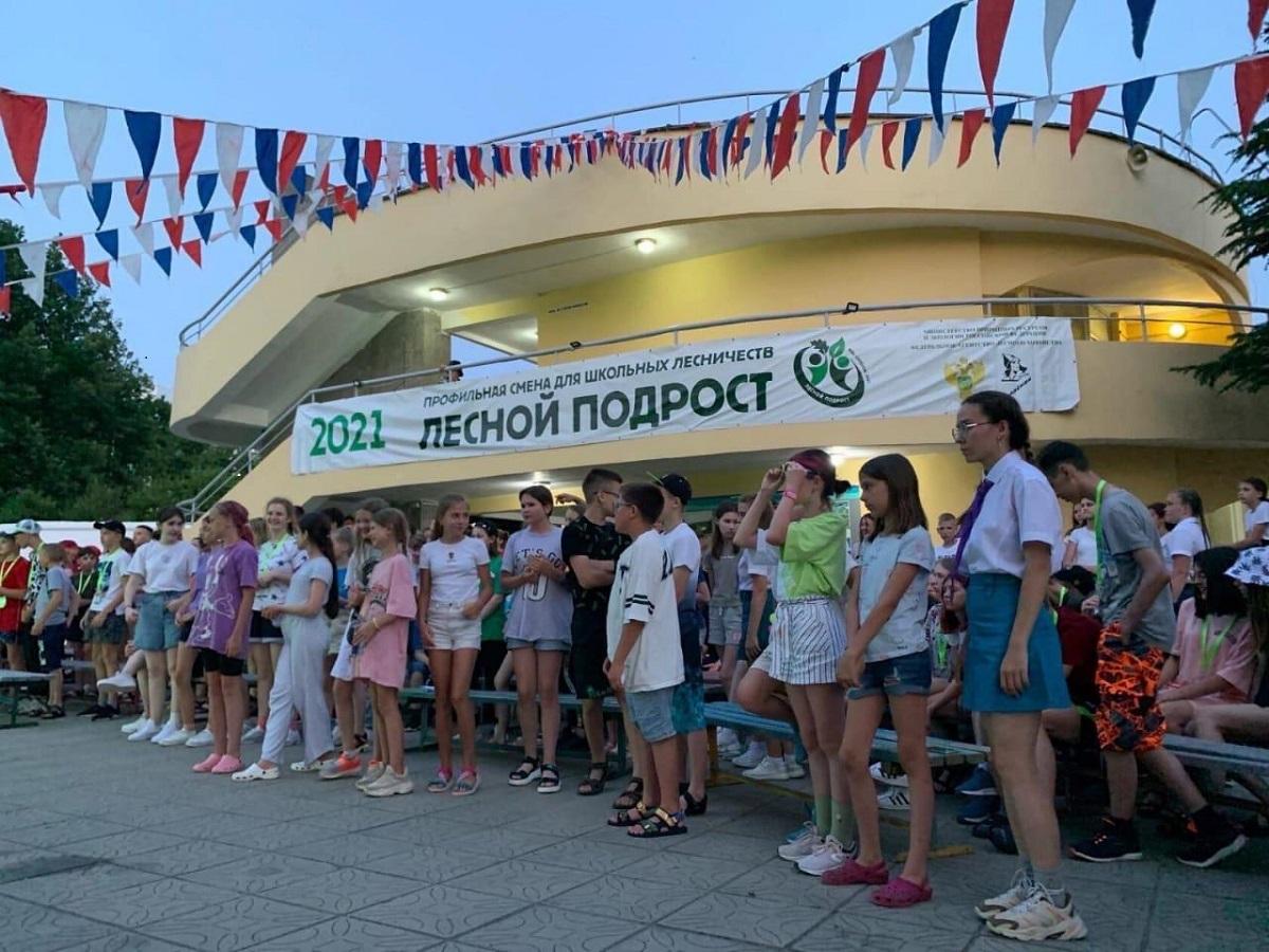 Нижегородские школьники отправились в«Орленок» для обучения попрограмме Рослесхоза «Лесной подрост»