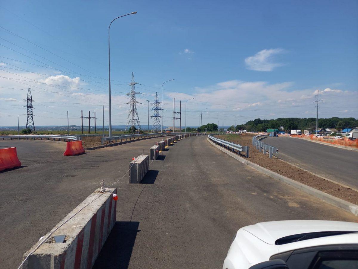 Автомобильное движение попутепроводу вОльгине вНижнем Новгороде откроется 25июня