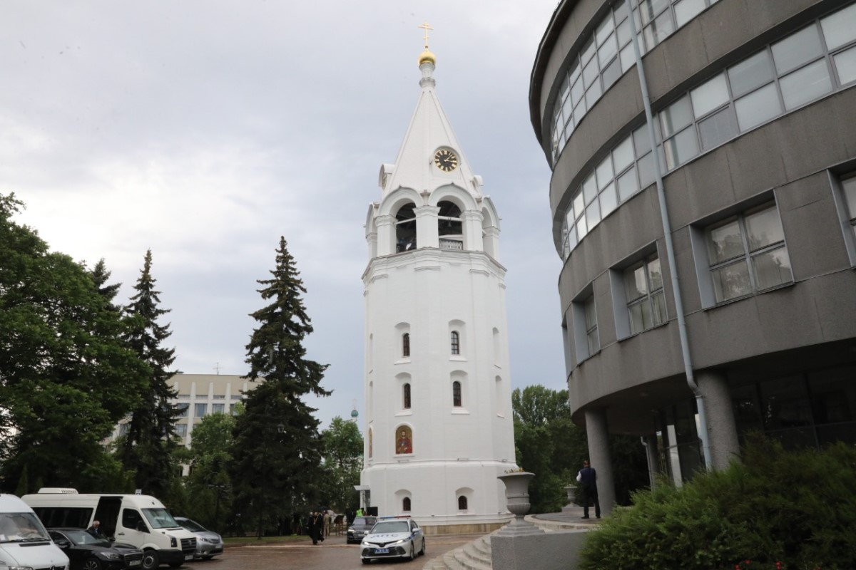Открылась колокольня Спасо-Преображенского собора на территории нижегородского Кремля