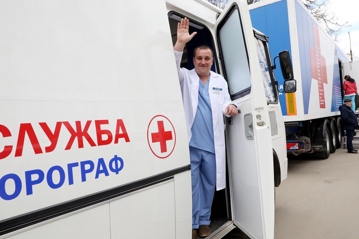 «Поезда здоровья» побывали в109 населенных пунктах Нижегородской области