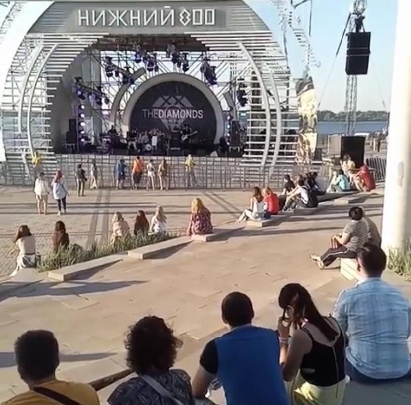 Рекордный минимум: некоторые нижегородцы не смогли посетить второй день фестиваля «Столица закатов»