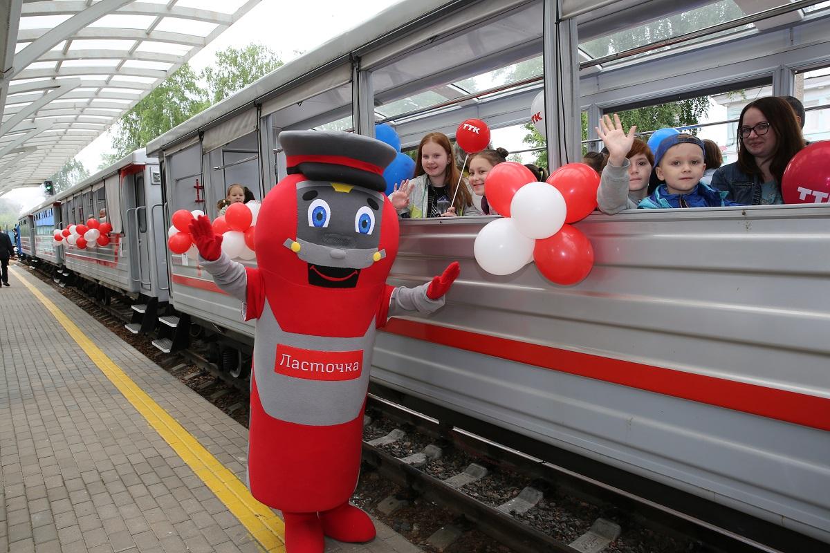 Новый сезон на Детской железной дороге в Нижнем Новгороде и Казани открылся 1 июня